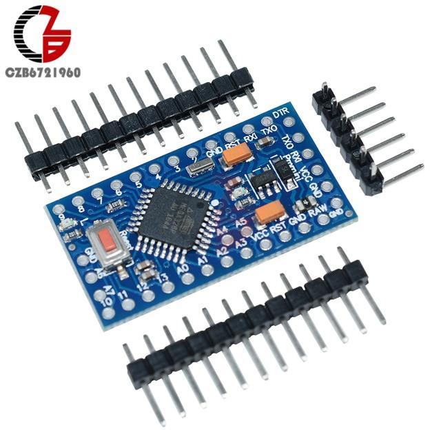 Pro Mini Atmega328 Pro Mini 328 Mini ATMEGA328 3.3V 8MHz Replace Atmega 128 for Arduino Compatible Nano