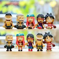5 stks/partij Japan Anime EEN STUK Mini Cijfers DIY Luffy Edward Newgate PVC Action Figure Speelgoed Pop Collectie Model Speelgoed Beste geschenken