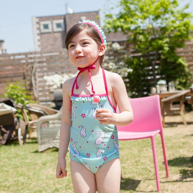 2019 Real Swimwear New Summer Baby Girls Bikini Set Cute Kids Swimwear Swimsuit -2491