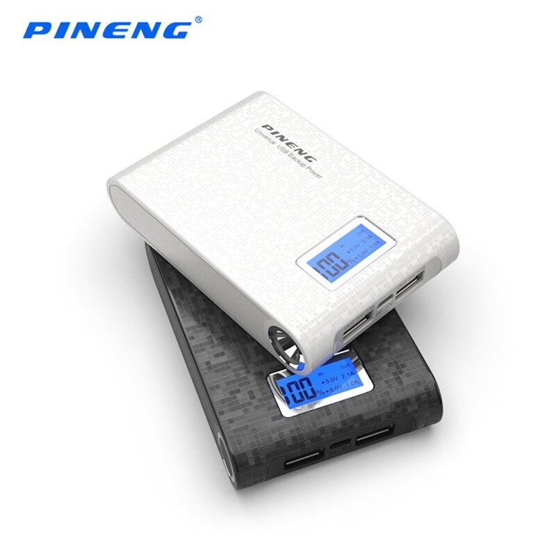 Pineng pn-913 10000ma banco de potencia led indicador de salida dual del usb ban