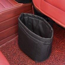 Biety экологически чистые ткани автомобиль мусорный бак Ткань Оксфорд утолщение сумка для хранения автомобиля Портативный волшебные наклейки мешок для мусора