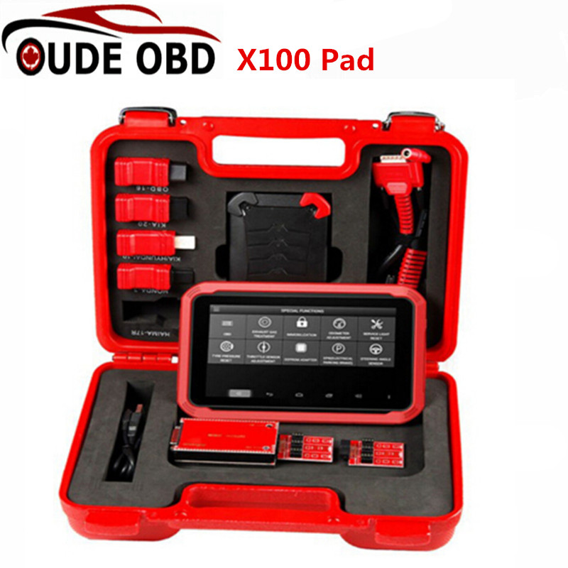 X-100 PAD XTOOL X100 PAD Auto Key Programmer Brand New X 100 Pad Update Online EEPROM Adapter Same As X300 DHL Free