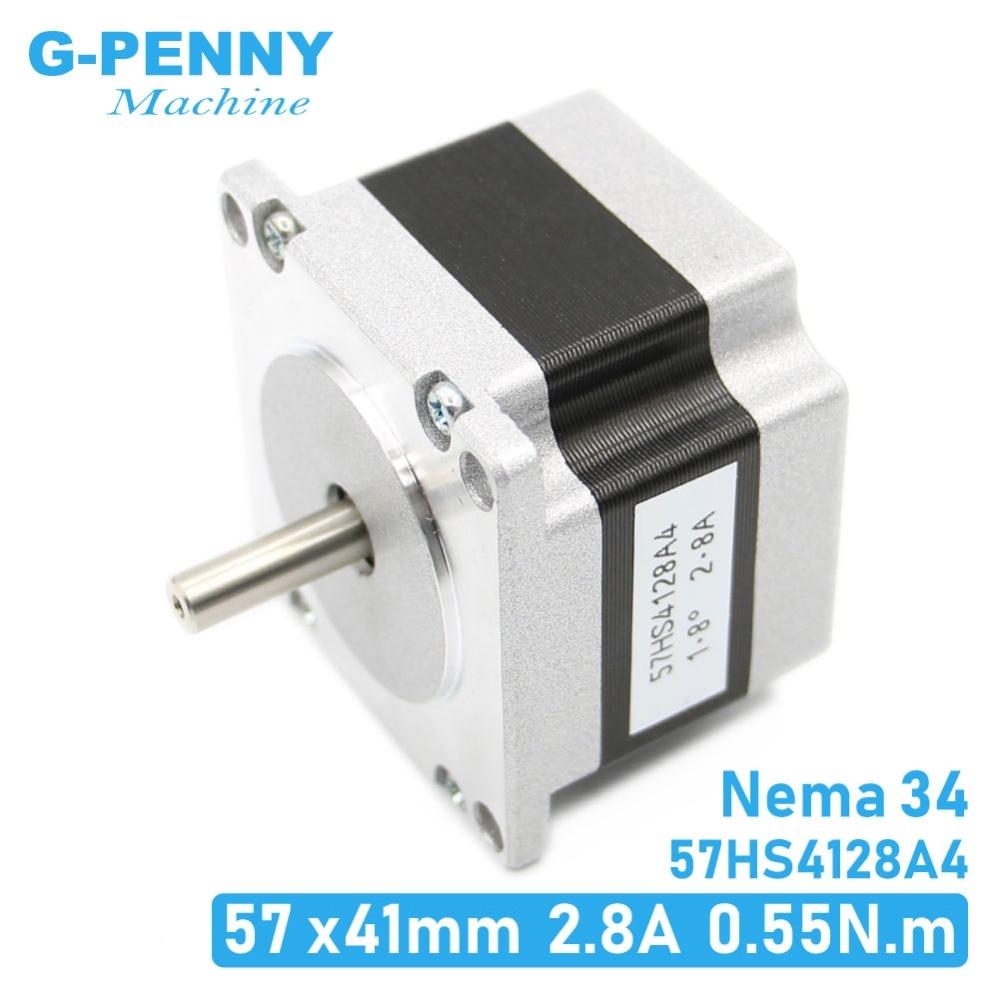 NEMA23 stepper motor 41mm 2.8A 0.55N.m 78Oz-in Nema 23 4wires Hybird stepper motor CNC stepping motor For CNC machine 3D printerNEMA23 stepper motor 41mm 2.8A 0.55N.m 78Oz-in Nema 23 4wires Hybird stepper motor CNC stepping motor For CNC machine 3D printer