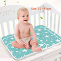 All Seasons Cotton printing Waterproof 35 * 45cm Infant Bedding Portable newborn changing mat Baby Care Changing Pads & Covers