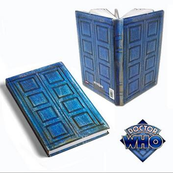 NEW hot Doctor Who Tardis Journal Book toy Notebook River Song's Travel Journal collectors action figure toys Christmas gift цена
