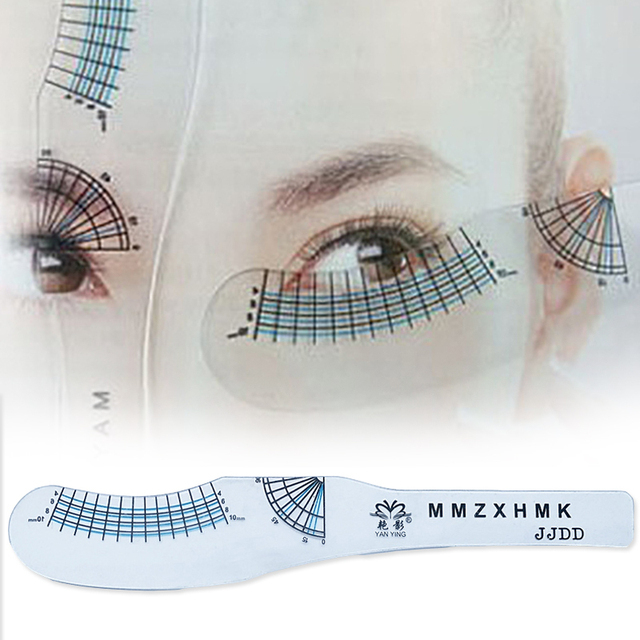 Magic Eyebrow Stencil Makeup Styles Eye Brow Drawing Template Make
