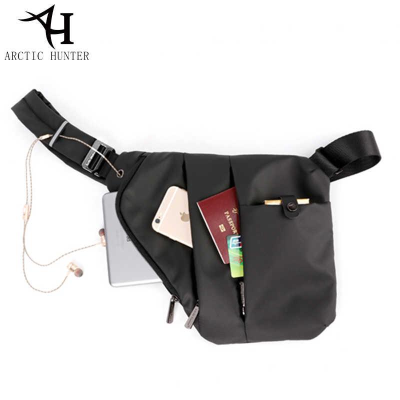 7563105179 ARCTIC HUNTER Brand New Design Shoulder Crossbody Bags Men Travel Fashion  Men Bag Anti theft Chest