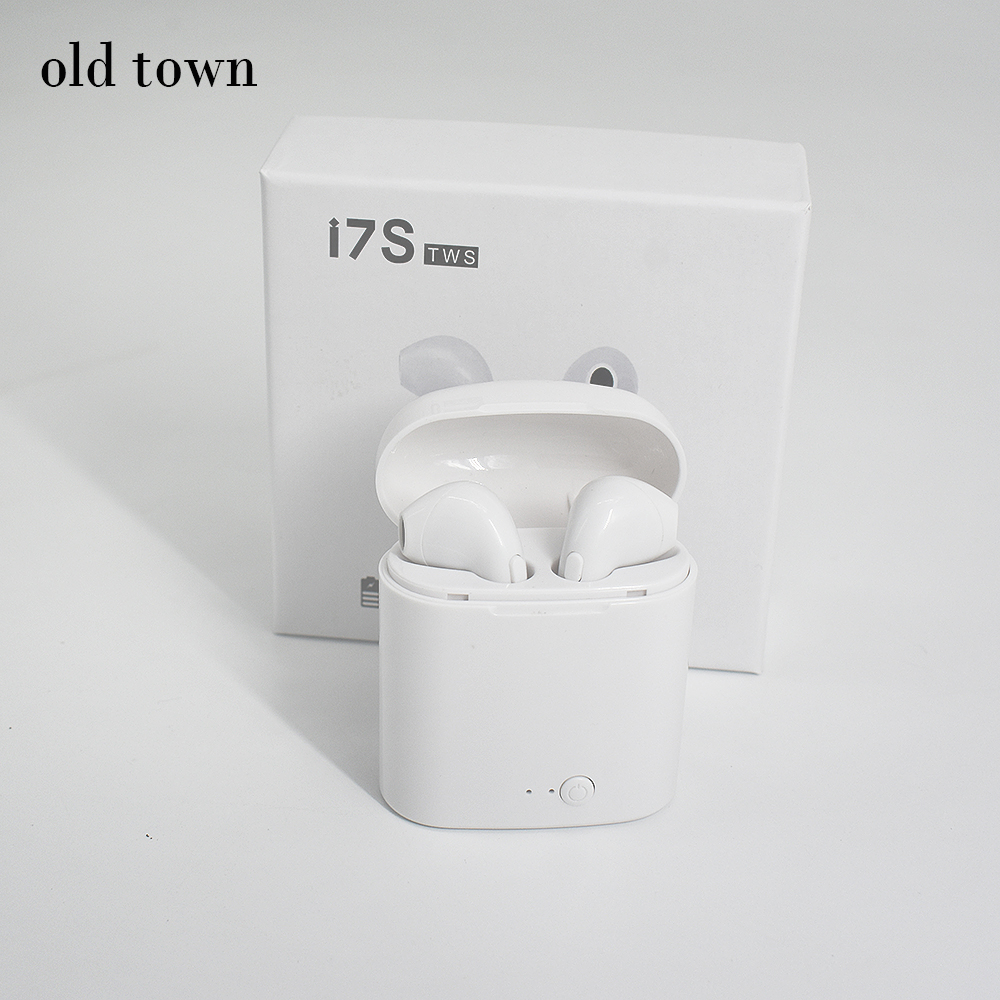 For Xiaomi I7s TWS Twins Wireless Earbuds Bluetooth V4.2 Stereo Headset Earphone for Iphone 7 Plus 7 6s 6 Plus SE Galaxy S8 Plus