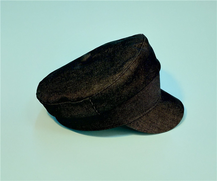 Women Military Hat Winter Cowboy Cap Vintage Flat Top Beret For Women Baker Boy Hat British Style Cadet Hat For Men Women