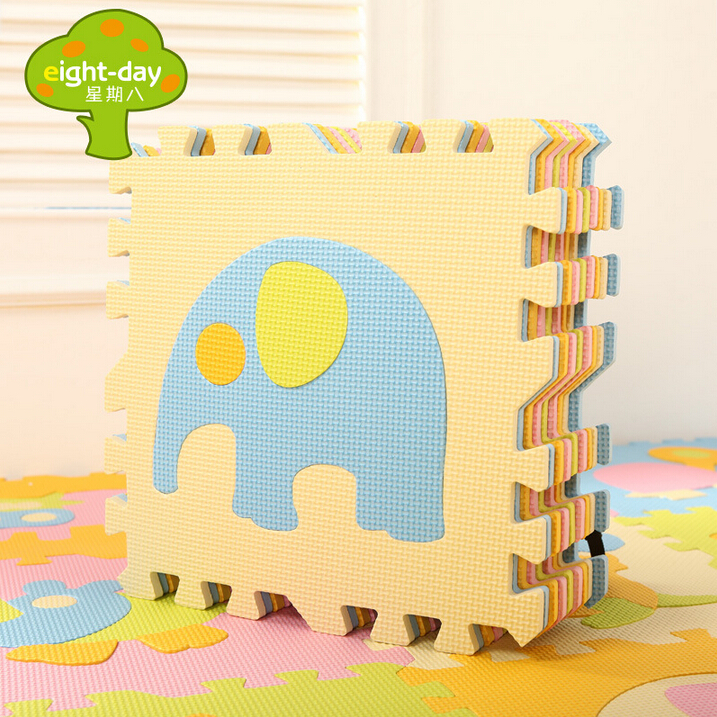 childrens soft developing crawling rugsbaby play puzzle numberletter