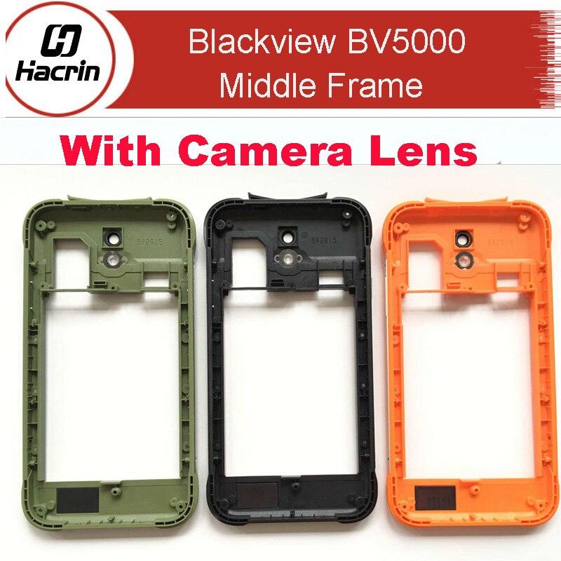 ᑎ‰Hacrin para Blackview BV5000 marco medio de alta calidad B Shell ...