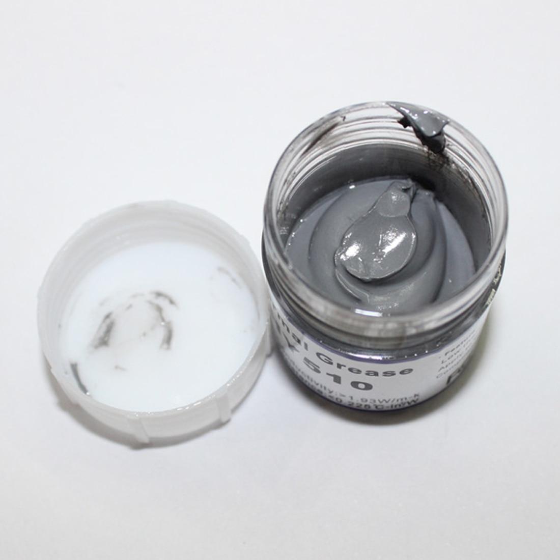 Silver Senyawa Termal Konduktif Mengoles Pasta Untuk Pendingin Cpu Processor 1 Compound Silikon