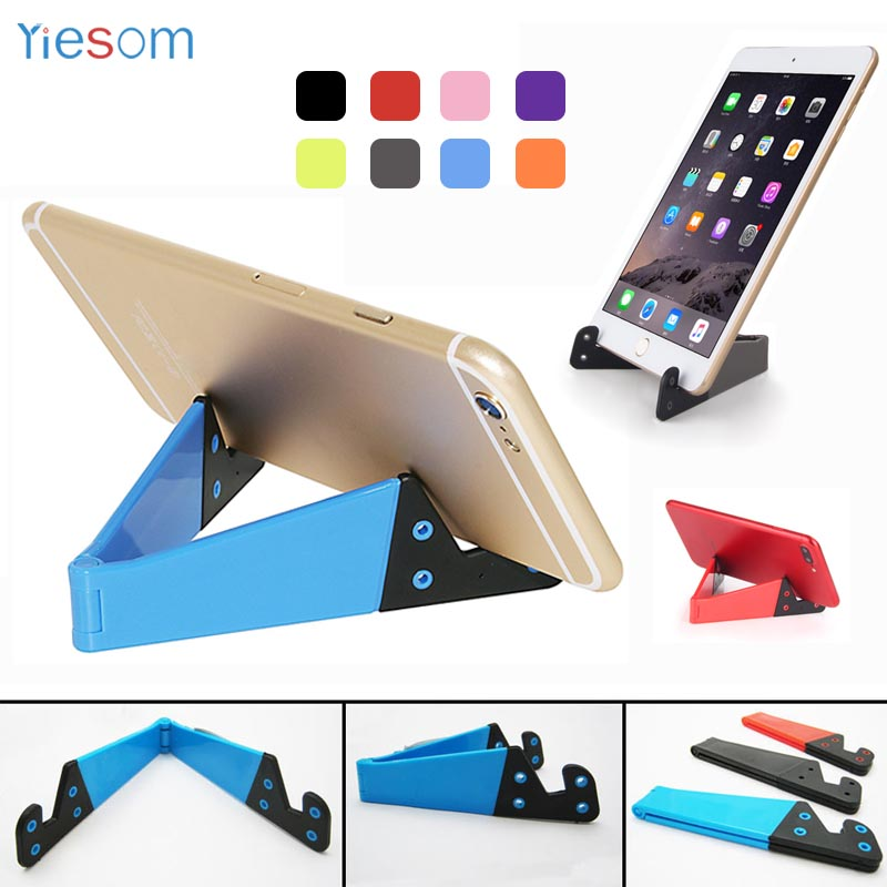 Phone Holder Stand For Iphone X Xs Foldable Mobile Phone Stand For Xiaomi Mi 9 Tablet Stand Desk Phone Holder For Samsung S10 S9 Mobile Phone Accessories Cellphones & Telecommunications
