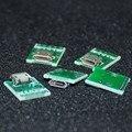 5 pcs micro usb para dip 2.54mm conector do adaptador módulo board painel feminino quadro de avisos 2.54mm micro usb 5-pin tipo pcb partes