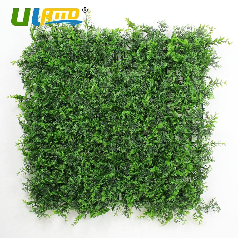 Copertura Giardino Fai Da Te pannelli uland piante di plastica verde artificiale siepe di