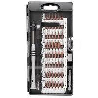 Магнитные водитель комплект профессиональный ремонт электроники Tool Kit S2 Сталь 60 в 1 прецизионных отверток комплект для IPhone Tablet