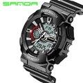 2016 санда Кварцевые Цифровые часы мужчины смотреть водонепроницаемый спорт военная G стиль S Шок часы мужские люксовый бренд relogio masculino
