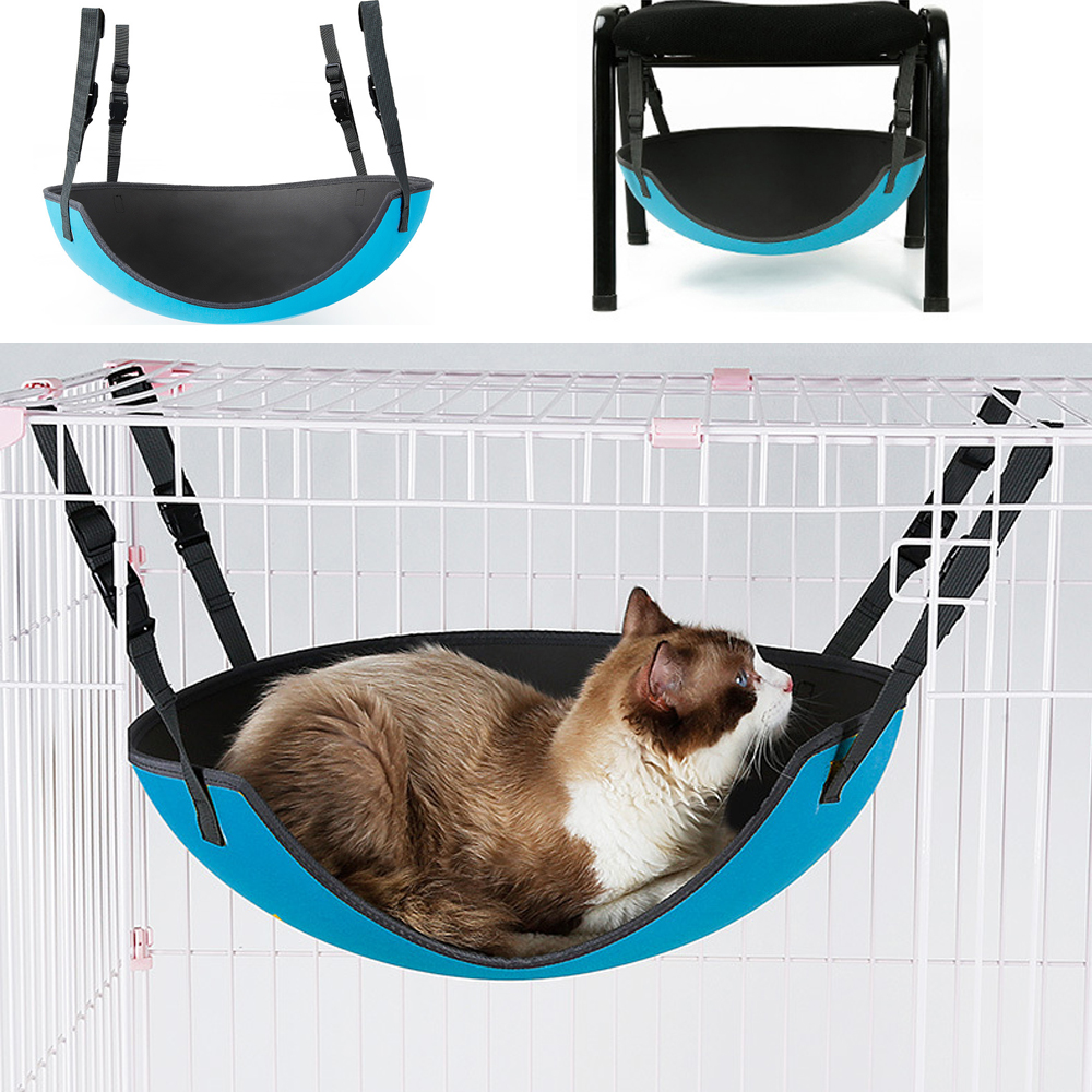 EVA Overal Safe Cat Swing Hammock Bed Pets Kitty Rest Play House Adjustable Hanging Nest Under