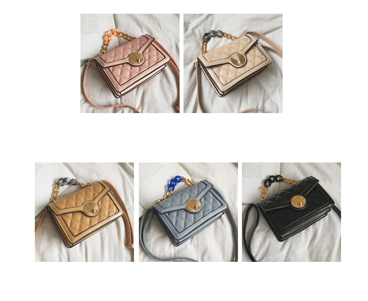 Women's Designer Luxury Channels Bags Shoulder Handbag for Women Quilted Leather Crossbody Flap Bag Fashion PU Lock Tote Handbag (6)