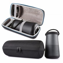 bose 061384. newest travel for bose soundlink revolve+ plus case eva carry protective speaker box pouch cover extra space plug \u0026 cables 061384