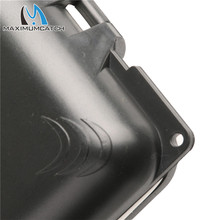 Maximumcatch MH Small Waterproof Plastic Fly Fishing Box Slit Foam Inside Pocket Fly Box