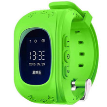 Q50 child-specific smart watch GPS real-time positioning tracking monitoring SOS alarm trail health double connection
