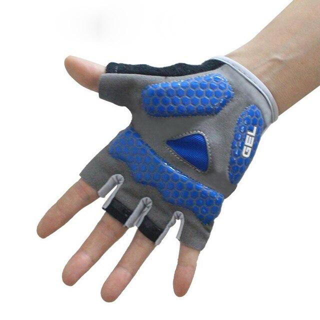 Verão mtb bicicleta ciclismo luvas de silicone antiderrapante metade do dedo da bicicleta luvas para homens mulheres acessórios bycicle 2