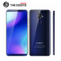 CUBOT X18 PLUS 4GB RAM 64GB ROM MTK6750T 1.5GHz Octa Core 5.99 Inch 2.5D IPS Full Screen Dual Camera Android 4G LTE Smartphone