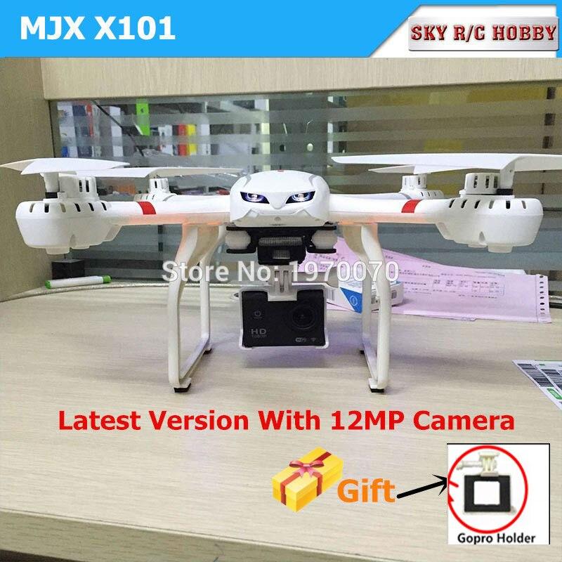 X101S MJX 2.4G 4CH 6 axes FPV WIFI caméra RC quadrirotor Drone hélicoptère vs X8C X8W X8G H16 yizhan X6 V686G