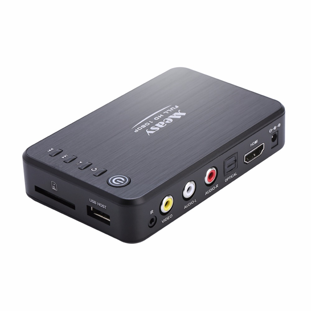 ФОТО Measy A1HD Multimedia 3D HDD Player Full HD 1080P MKV H.264 HDMI USB HOST SD with remote
