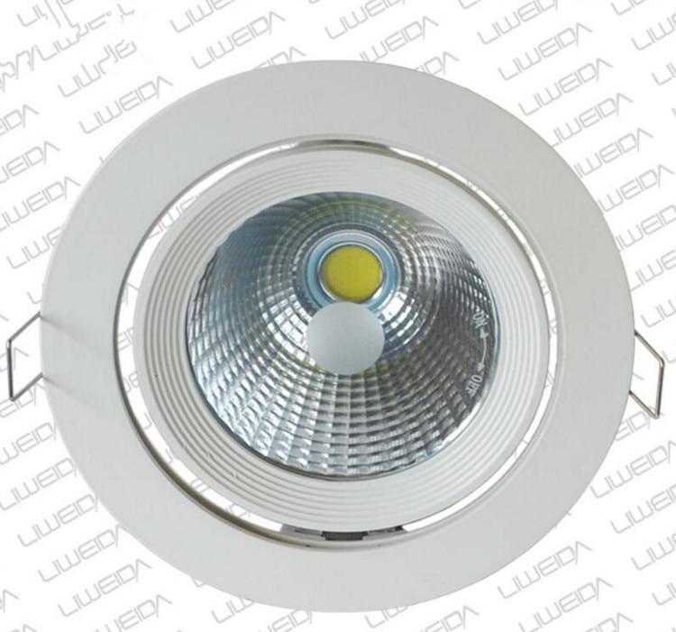 Besplatna dostava 30W okrugla COB osvijetljena svjetlost sa - Unutarnja rasvjeta - Foto 3