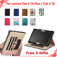 Case For Lenovo TAB4 Tab 4 10 TB X304L TB X304F N Smart Cover For Lenovo