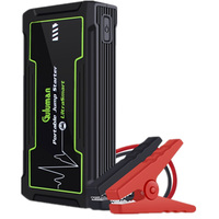 800A 16800mAh Portable Car Jump Starter 12Volt Car Battery Booster Jump Starter Pack Power Bank With LED Emergency Flashlight