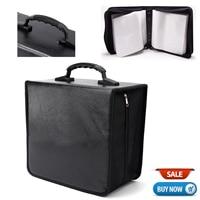 Handheld 520 Disc CD DVD Portable Storage World Map Printed Holder Carry Durable Wallet Bag Wallet DJ Album Collect Storage