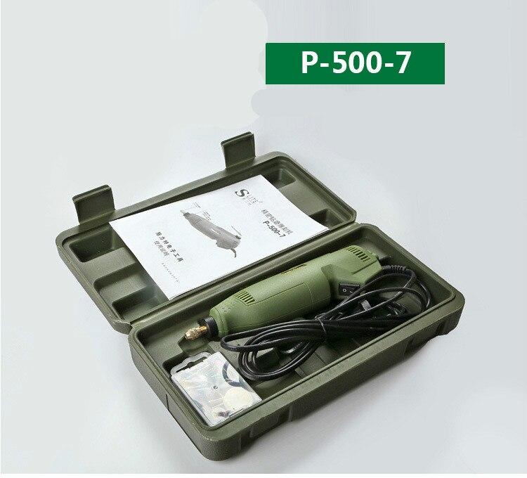 Mini taladro eléctrico molienda talla línea velocidad fabricantes amoladora venta molinillos p-500-7