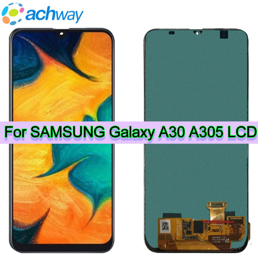 6.4For Samsung Galaxy A30 LCD A305 A305F SM-A305F Display Touch Screen Digitizer Assembly A30 2019 For SAMSUNG A30 LCD A305DS6.4For Samsung Galaxy A30 LCD A305 A305F SM-A305F Display Touch Screen Digitizer Assembly A30 2019 For SAMSUNG A30 LCD A305DS