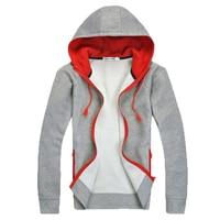 2015 Fashion Brand Hoodies Men Casual Sportswear Man Hoody Zipper Long Sleeved Sweatshirt Men Slim Fit