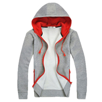 2015 Fashion Brand Hoodies Men Casual Sportswear Man Hoody Zipper Long Sleeved Sweatshirt Men Slim Fit
