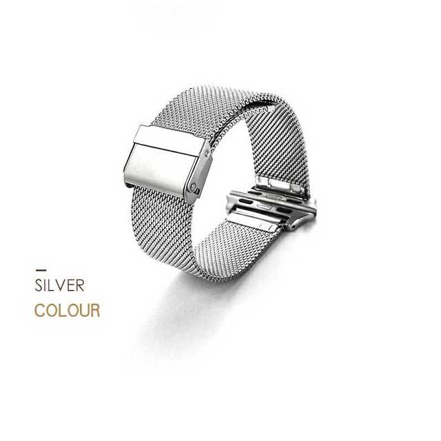Series 3 2 1 Stainless Steel Strap watchband magnet lock Watch Bands for Apple Watch Milanese loop Band for iwatch 38/42mm | Fotoflaco.net