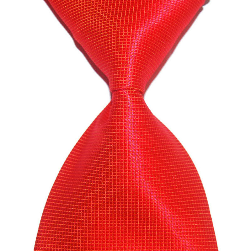 Solid Plaid Tie For Men Silk Necktie 10cm Wide Square Fashion Jacquard Woven Formal Wear Business Gift For Wedding Party Classic
