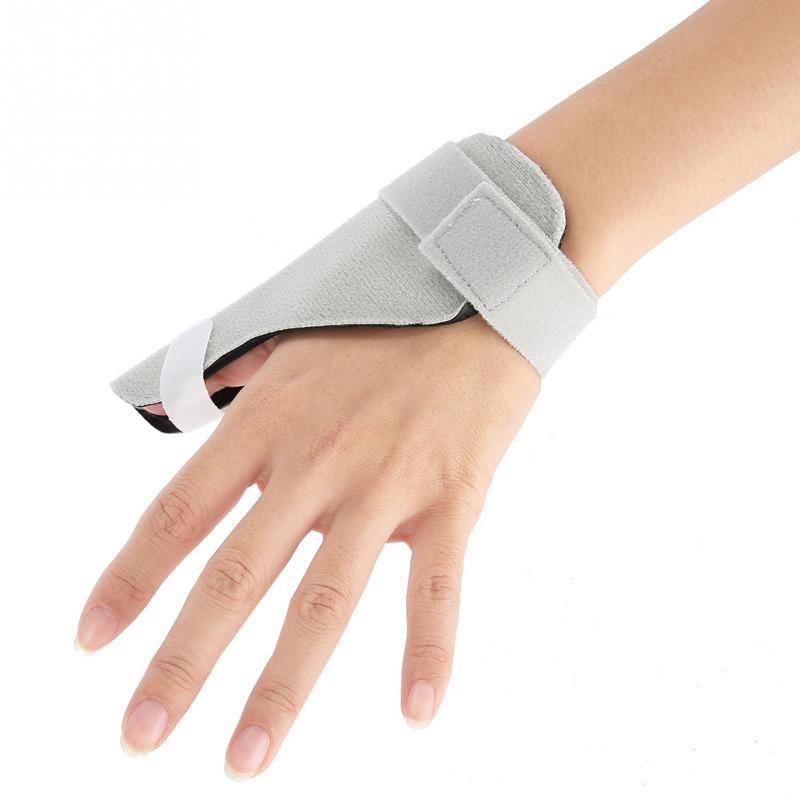 Adjustable Breathable Thumb Splint Finger Brace Hand ...