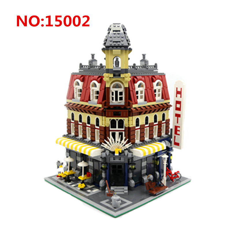 2018 New LEPIN 15002 Cafe Corner Model Building Kits Blocks Kid Toy Gift Compatible With 10182 21001 Technic Series Volkswagen new lepin 15002 2133pcs cafe corner model building kits blocks kid diy educational toy children day gift brinquedos 10182