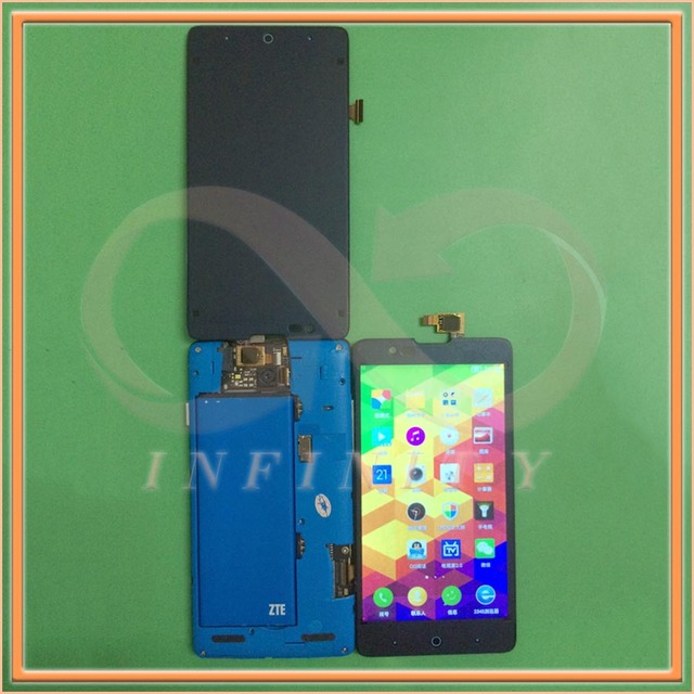 На Складе 100% Тестирование Дисплей Для ZTE Redbull V5 V9180 N9180 U9180 N918ST ЖК-Экран С Сенсорной Панели Планшета + номер для отслеживания