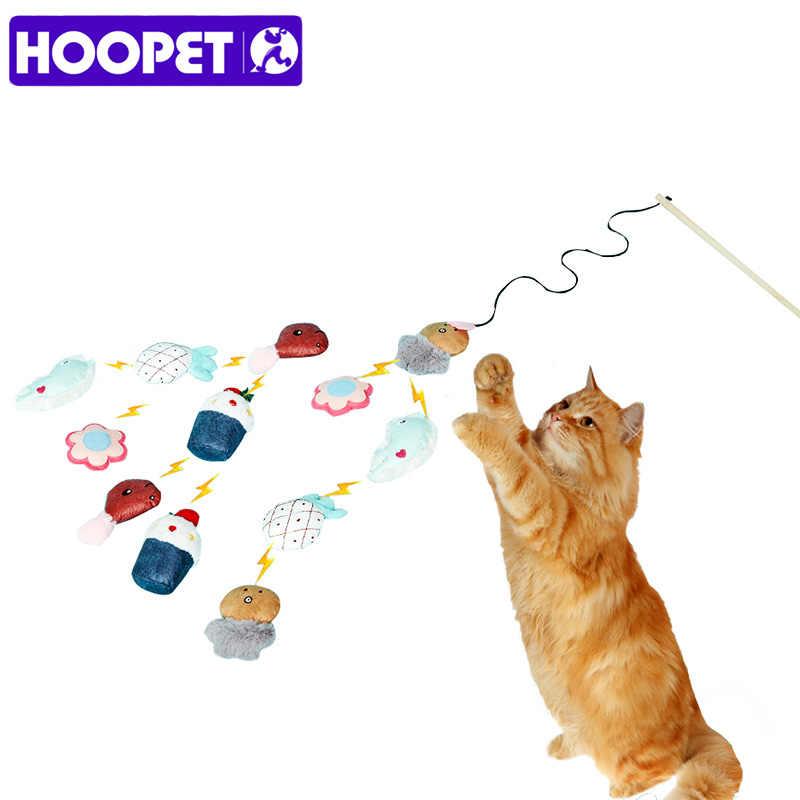HOOPET Pet Gatto Giocattolo Interattivo Stick Giocattoli per Gatti Gatto Forniture