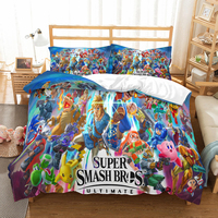 3D print Bedding set Cartoon super mario bros friends'/lovers' gift, Duvet cover set Home Textiles