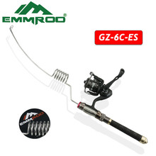 ФОТО emmrod authentic value ratio of sea pole boat fishing rafts lake fishing fishing rod set spinning wheel gz - 6 c - e