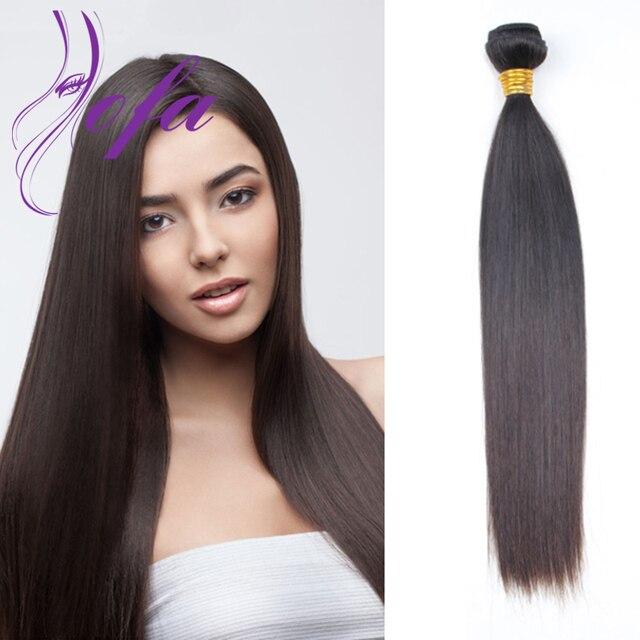 34 40inch Brazilian Virgin Hair Straight Brazilian Hair Weave