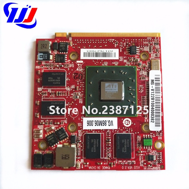 For Acer Aspire 5710G 5920G 6530G 6920G Notebook PC for ATI Mobility Radeon HD 3650 HD3650 DDR3 256MB MXM II Graphics Video Card original high quality genuine for mac pro edition ati radeon x1300 256mb pcie video card for macpro1 1 2 1 xserve