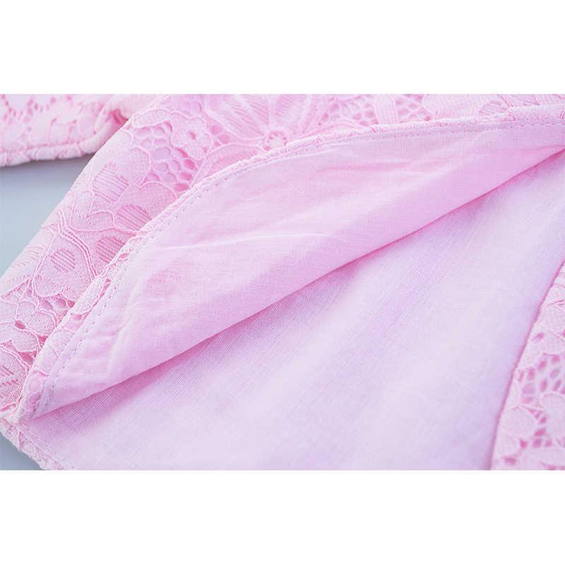 Çocuk Kız Dantel Hırka Bebek Uzun Kollu Tığ Bolero Ceketler Kız Düğün Parti pelerin palto Çocuk Elbise Üstleri Giyim
