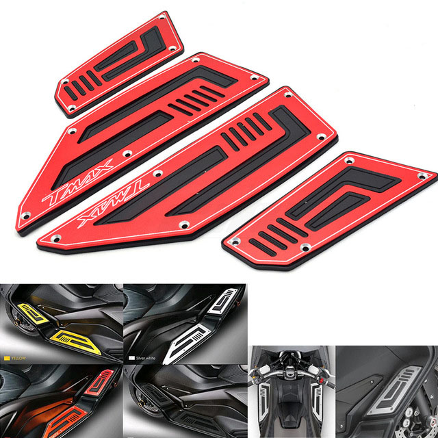 2018 new Footrest Pedal Motorcycle Front & Rear Motorbike Footboard Steps Foot Plate for Yamaha TMax530 T Max TMax 530 2012-20162018 new Footrest Pedal Motorcycle Front & Rear Motorbike Footboard Steps Foot Plate for Yamaha TMax530 T Max TMax 530 2012-2016
